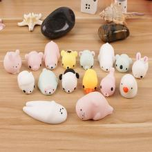 1Pcs Mini Squishy Toy Cute Animal Antistress Kids Luminous Squeeze Stress Relief Toys Funny Gift