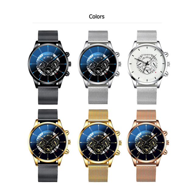2020 Hollow Men's Watch Fashion Ultra Thin Watches Date Men Business Stainless Steel Mesh Belt Quartz Watch Relogio Masculino 2
