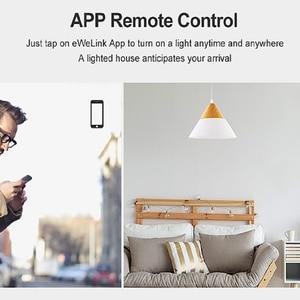 Image 2 - Sonoff t2 ue/eua/reino unido tx interruptor de parede luz inteligente painel soquete toque/wifi/433mhz/eweilink/rf/app controle remoto sem fio google casa