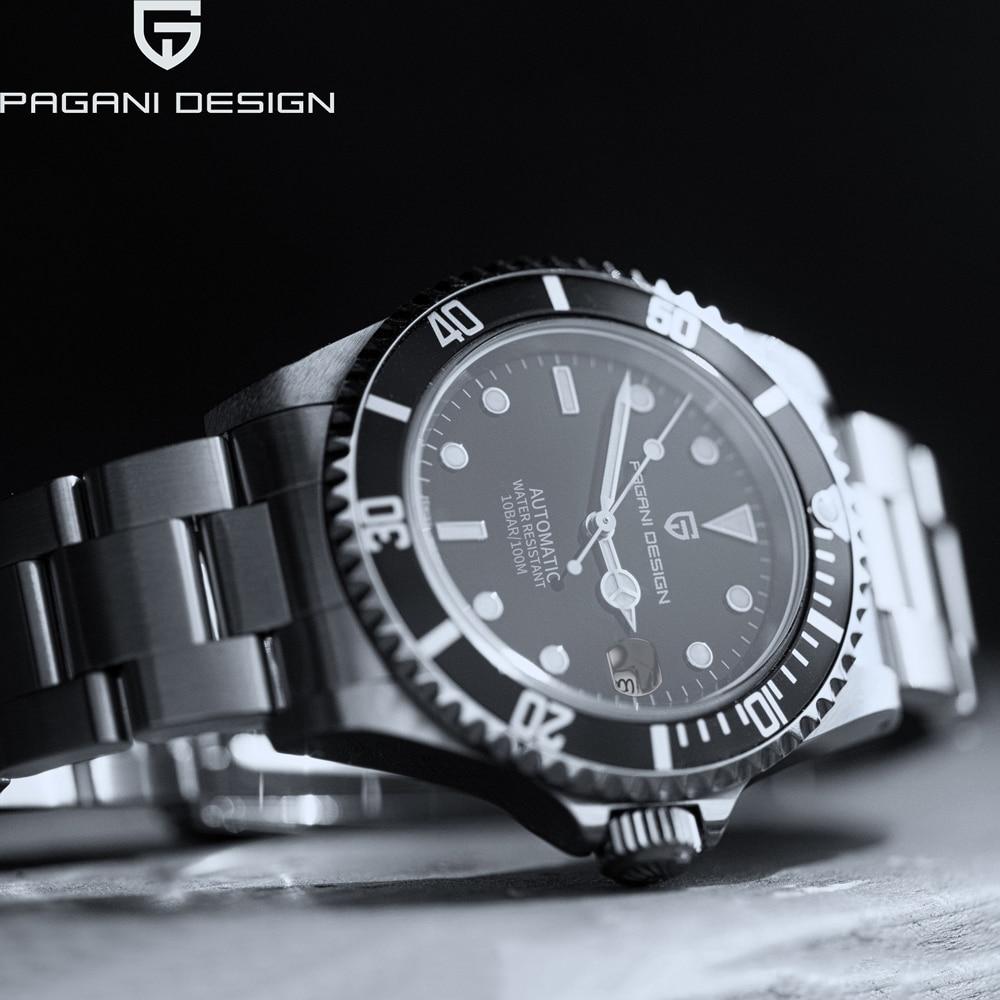 PAGANI DESIGN Mens Watches Luxury Business Wristwatch Men Mechanical Automatic Watch Men Sport Waterproof Relogio Masculino 2020