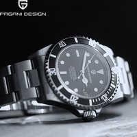 PAGANI DESIGN Mens di business Orologi di lusso orologio da polso da uomo meccanico automatico della vigilanza degli uomini di sport impermeabile relogio masculino 2020