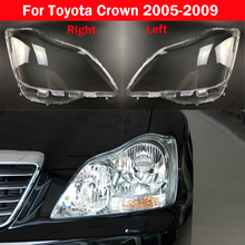All New Head Lamp Case For Toyota Crown 2005 2009 Car Front Headlight Cover Auto Light Lens Glass Bright Lampshade Shell Caps