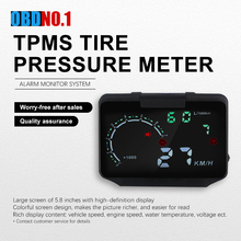HUD Car Head Display Plus Car Tire Pressure Monitorting system Two in one Product HA X30 TMPS Monitor System HD hund display