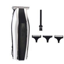 Перезаряжаемая машинка для стрижки волос, электрический триммер для волос для мужчин, триммер для бороды, светодиодный дисплей, профессиональная машинка для стрижки волос, стрижка, Парикмахерская
