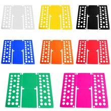 Qualidade ajustável magia folder roupas folding board t camisas jumpers organizador fold economizar tempo rápido roupas titular crianças/adultos