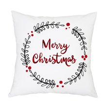 Рождество подушка чехол красивый узор Рождество подушка диван подушка чехол спальня украшение подушка подушка чехол