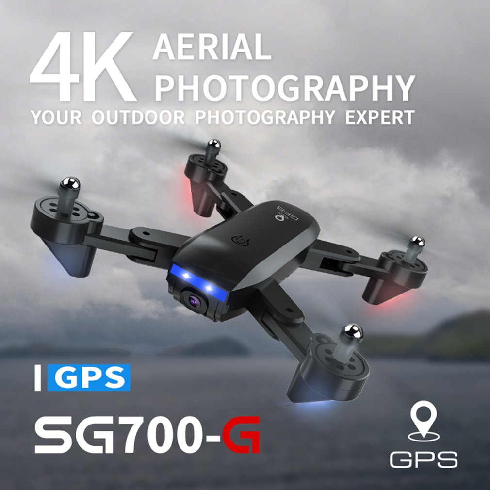 <font><b>Drone</b></font> SG700G <font><b>5G</b></font> WiFi FPV 1080P or 4K Dual Camera Optical Flow Quadcopter Foldable Selfie <font><b>Drone</b></font> Wide angle APP control image