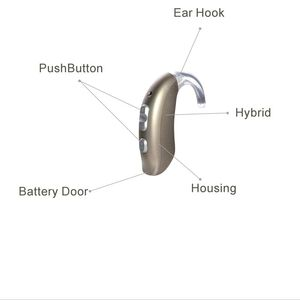 Image 3 - 4 Channels Programmable Digital BTE Hearing Aid B304P fitting range 115DB hearing aids adjustable tone in ear