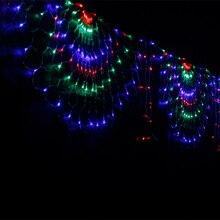Непромокаемый светодиодный USB шнур Павлин световая завеса сказочные огни для свадьбы Вечерние рождественские SF66