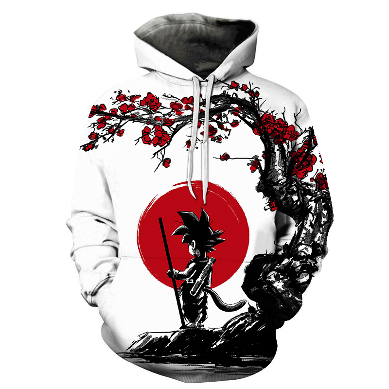 Dragon Ball Z Cartoon 3D Hoodie Sweatshirts Men Women Hoodie Anime Casual Tracksuits Jackets Harajuku Hooded Pullover Son Goku