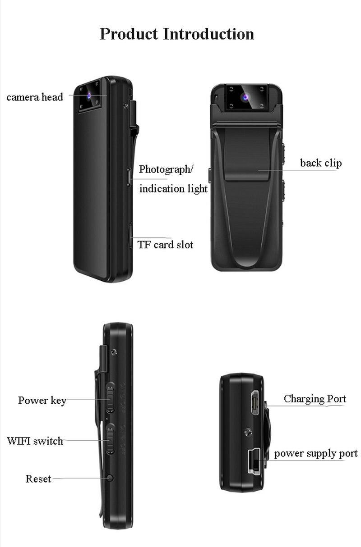 de voz foto polícia caneta câmera wi