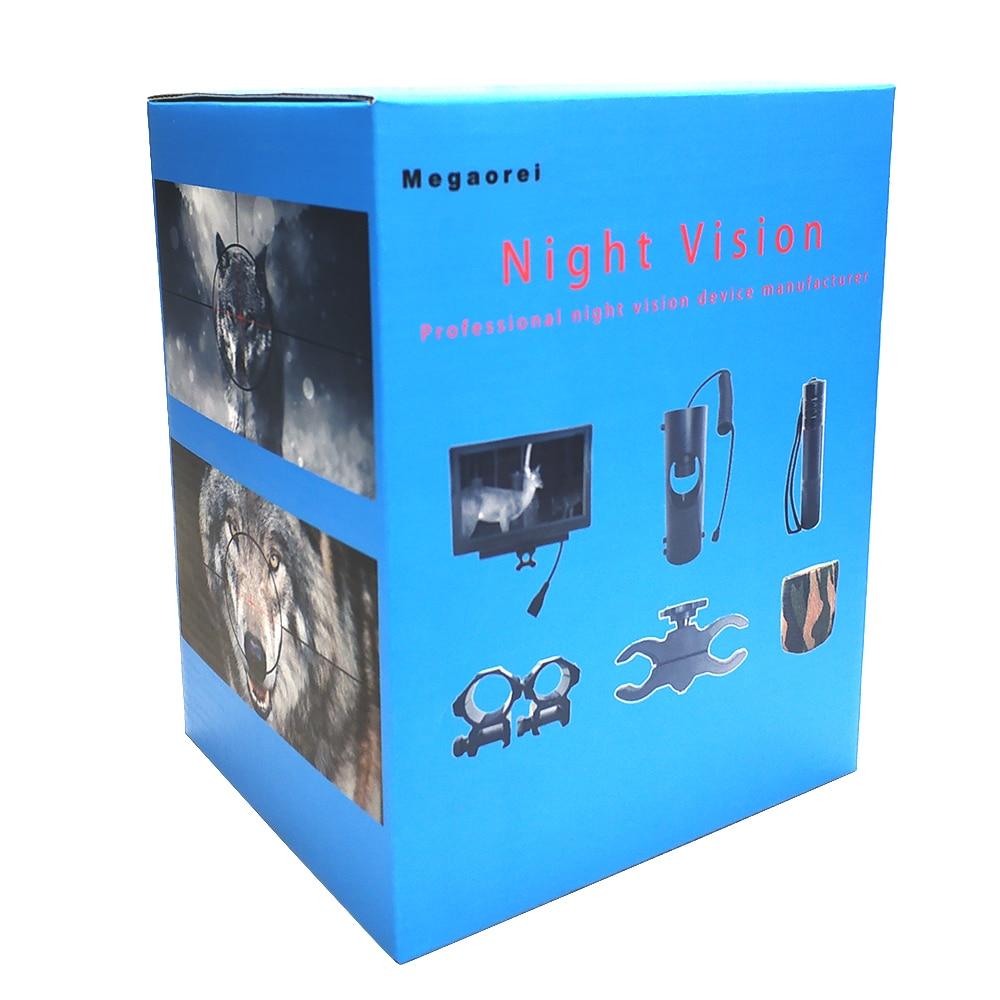 infravermelha riflescope uso no dia & noite