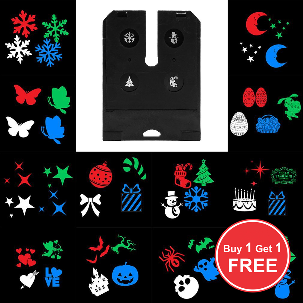 Buy 1 Get 1 Free Pattern Card For Outdoor LED Lawn Lamp Switchable Replacement Card Pattern Change Card Party Festival Decor