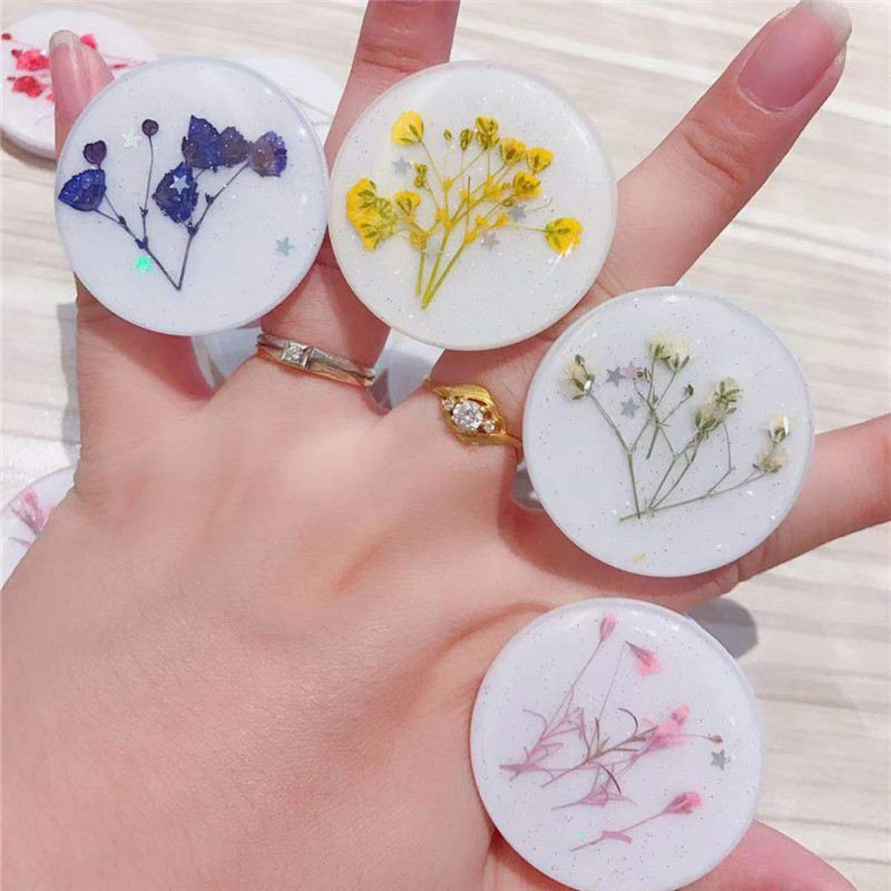 30pcs Universal finger holder for cellphone tablet ipad iphone samsung huawei xiaomi flower expandable bracket grip stand socket