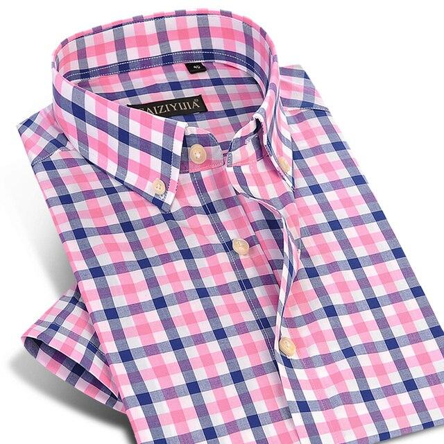 Men's Checked Cotton Shirts