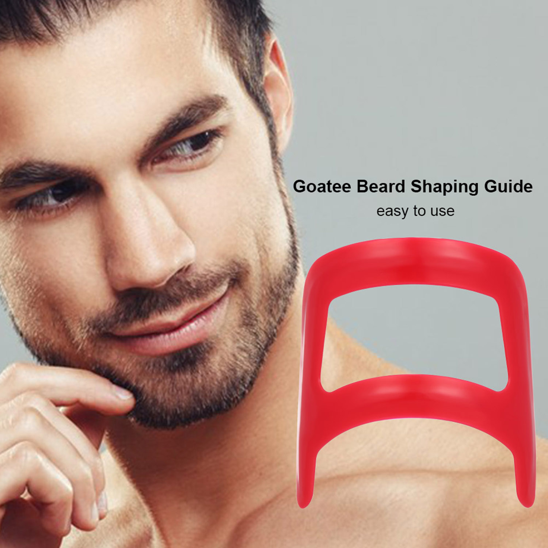 Goatee Beard Shaping Grooming Self Cut Beard Shaper Tools Goatee Guide Template Stencil For Men S Beard Shaving Styling Combs Aliexpress