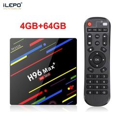 ILEPO Android 8.1 TV Box Rockchip RK3328 Quad Core RAM 4GB ROM 32/64GB 2.4/5GHz Wifi 100M LAN H.265