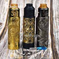 Coolvape slam piece механический мод vape kit 30 мм diamater 18350 18650 20700 21700 батарея Mech Mod fit asgard 30 мм rta