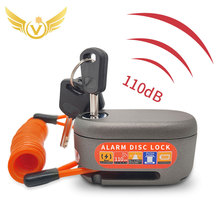 Lock Motor Fahrrad Alarm Disc Lock Sound Bremse Motorrad Lock Alarm Disc Bremse Lock 110db Sicherheit Wasserdichte Fahrrad lock