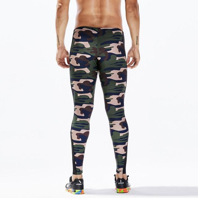 Man's lounge pants home and out door pants Military Army Camo Stretch Workout Tights Camouflage casual Fitness Long Pants 3