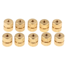 10Pcs Tenor Horn Key Button Piston Value Cap Screws for Trumpet Cornet Tuba Accessories