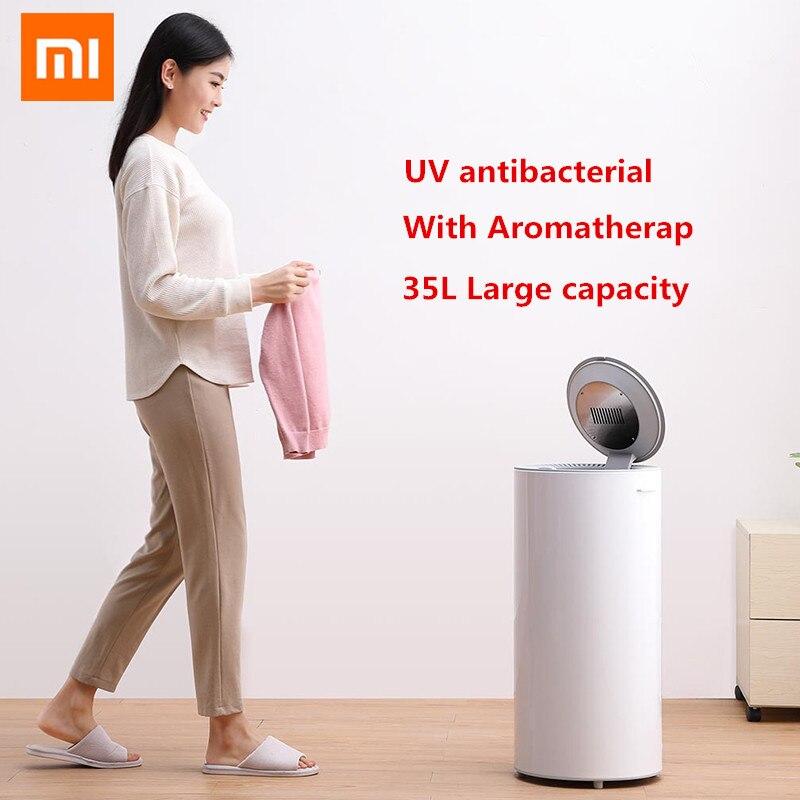 Xiaomi Youpin Smart Lavanderia Disinfezione Asciugatrice 35L Capacità di 650W di Potenza di Sterilizzazione di Essiccazione Scarpa Abbigliamento Asciugatrice UV di Sterilizzazione