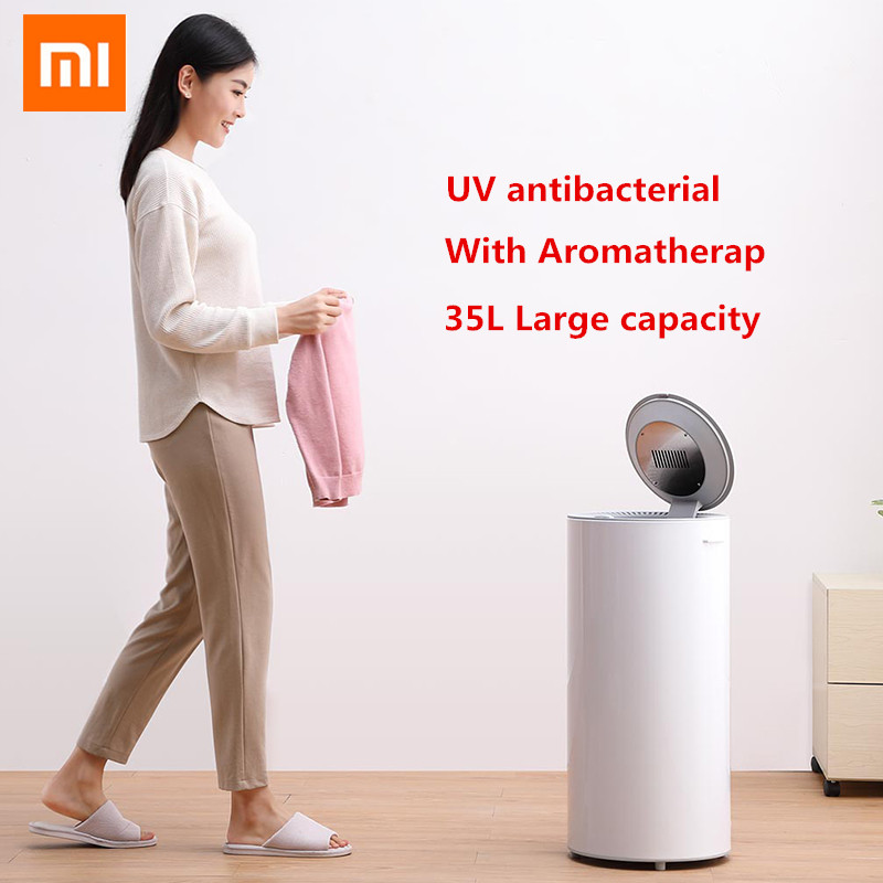 Xiaomi youpin inteligente secador de desinfecção de lavanderia 35l capacidade 650 w potência esterilização secagem sapato roupas secador esterilização uv
