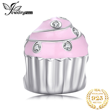 JewelryPalace Cake 925 Sterling Silver Beads Charms Silver 925 Original For Bracelet Silver 925 original Beads Jewelry Making jewelrypalace 925 sterling silver beads charms silver 925 original for bracelet silver 925 original beads for jewelry making