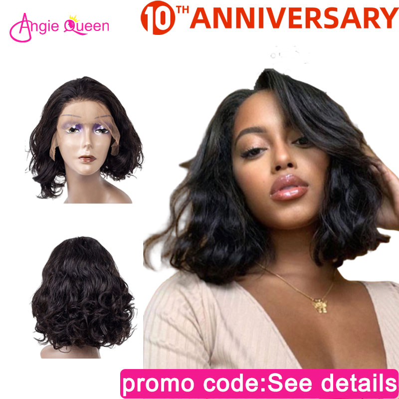 Body Wave Lace Front Human Hair Wig 150% Malaysian Remy Hair Human Wigs Closure Wig Bob Wig 100% Human Hair Remy Hair Lace Wig