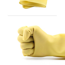Gloves Latex Rubber-Sleeve Kitchen-Tools Dishwashing-Clean Waterproof Silicone