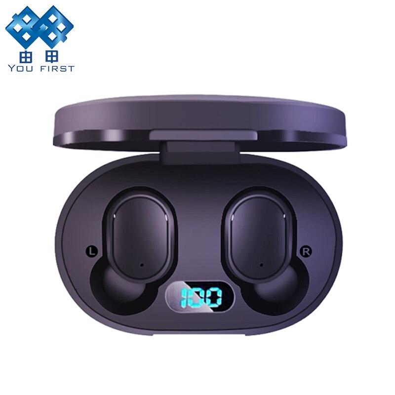 Drahtlose Kopfhörer Bluetooth Freisprecheinrichtung 5,0 TWS Stereo Bluetooth Kopfhörer mit Mic PK i9S i12 TWS für Redmi Airdots Dropshipping