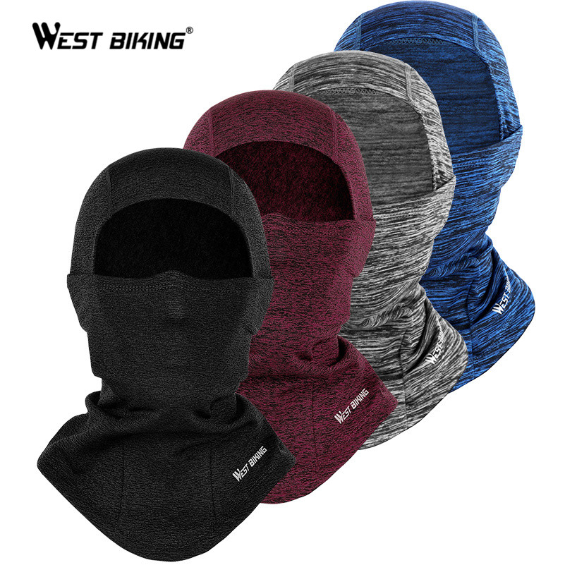 WEST BIKING Windproof Bicycle Full Mask Warm Scarf Balaclava…