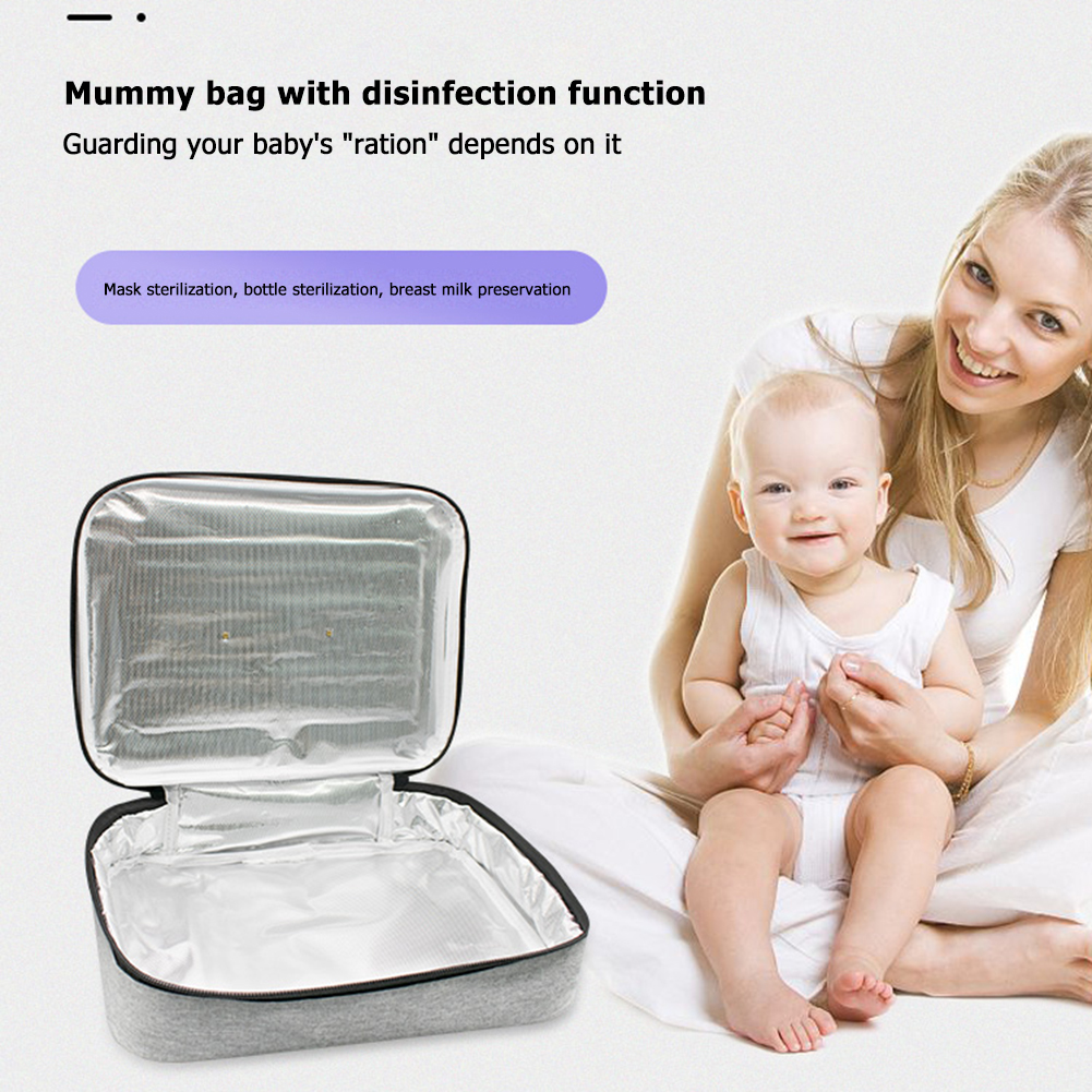 UV Ultraviolet Disinfection Box UVC Sterilizer Phone Jewelry Personal Sanitizer Uv Disinfection Box Cleaning Device