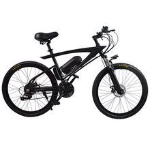 New electric car 36V adult lithium battery boost two wheeled battery snow beach mountain bike