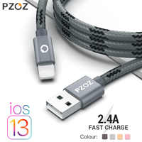 PZOZ usb cable for iphone cable 11 pro max Xs Xr X 8 7 6 plus 6s 5 s plus ipad mini 4 fast charging cables mobile phone charger