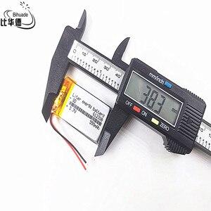Image 2 - Good Qulity Polymer battery 550 mah 3.7 V 612338 smart home MP3 speakers Li ion battery for dvr,GPS,mp3,mp4,cell phone,speaker