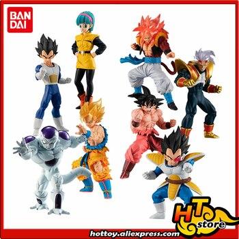 100% Original Bandai HIGH GRADE REAL FIGURE HG Gashapon PVC Toy - Goku Vegeta Bulma Freeza Gogeta Baby