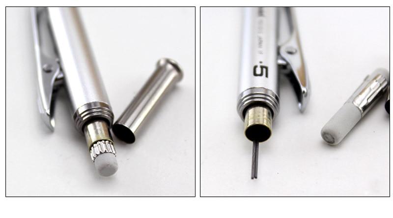4 pentel graphgear 1000 conjunto de lápis