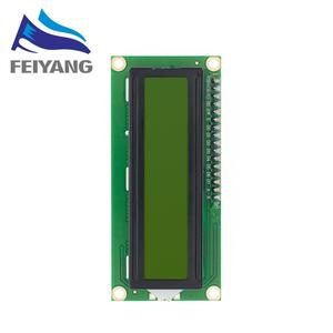 Image 3 - 10Pcs LCD1602 1602 Lcd Module Blauw/Geel Groen Scherm 16X2 Karakter Lcd Display PCF8574T PCF8574 Iic i2C Interface 5V
