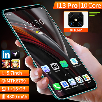 Global version 5.7inch SOYES i13 Pro Mobile phone,Newest Android 10 Deca Core Smartphone Quad Camera GSM Cellphone Dual Sim Card 1