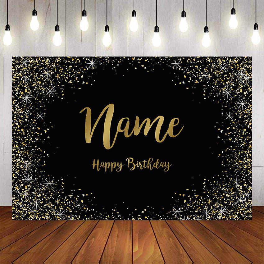 Mehofond Fotografie Achtergrond Glitter Goud Roze Verjaardagsfeestje Volwassenen Party Decor Photophone Foto Achtergrond Foto Studio