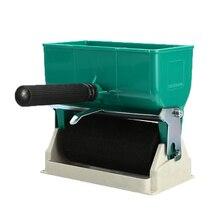 """แบบพกพามือถือกาว Applicator ลูกกลิ้ง 3 """"6"""" 180/320mL Manual Gluer สำหรับช่างไม้ Dropship"""