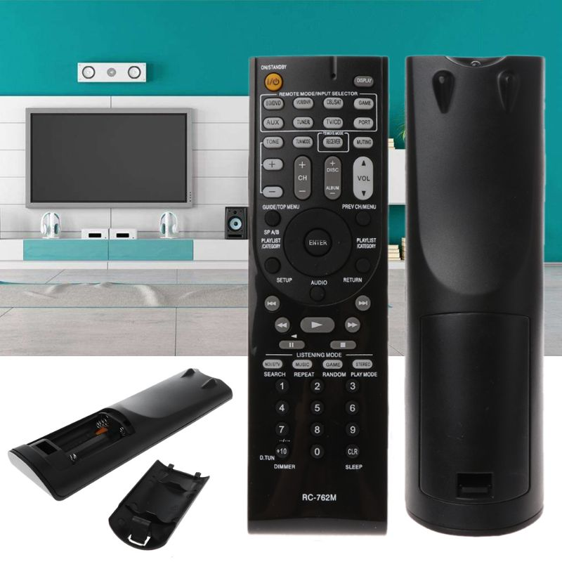 RC-762M Remote Control Contorller Replacement for Onkyo AV Receiver HT-S3400 AVX-290 HT-R390 HT-R290 HT-R380 HT-R538 HT-RC230