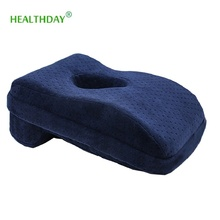 Bamboo Charcoal Cool  Neck Pillow Slow Rebound Momory Foam Protecting Nap or Correct Your Sitting Posture