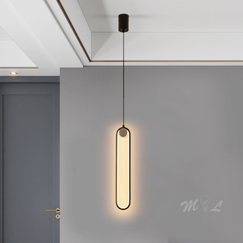 Modern Minimalist Pendant Lamps for Bedroom Living Room Light Pendant Led Hanging Lamps Kitchen Fixtures Dining Room Luminaires