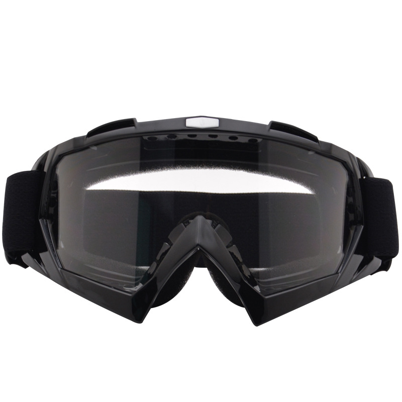 Goggles For Motorcycle Outdoor Locomotive Eye-protection Goggles Off-road Bicycle Glass Helmet Glasses Single Layer Ski Goggles