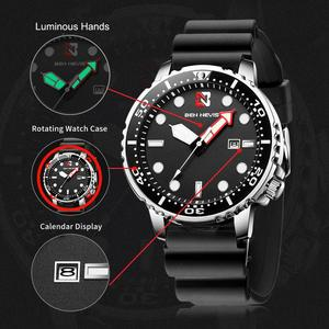 Image 5 - Fashion Military Black Men Watch Top Brand Luxury Waterproof Big Size Time zone circle Design Quartz Watch Men Relogio Masculino