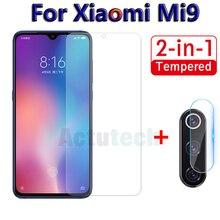 2 in 1 Screen Protector Glass For Xiaomi Mi9 SE Mi 9 9se Camera Tempered Glass On For Xiaomi Mi9 se Back Lens Protective Film 9H for xiaomi mix 2 2s screen protector for xiaomi 9 9se tempered glass 3x stronger 3d full coverage for xiaomi mi9 protector film