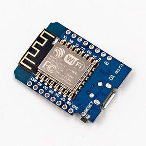 Image 4 - D1 מיני ESP8266 ESP 12 ESP 12F CH340G CH340 V2 USB WeMos WIFI פיתוח לוח D1 מיני NodeMCU Lua IOT לוח 3.3V עם סיכות