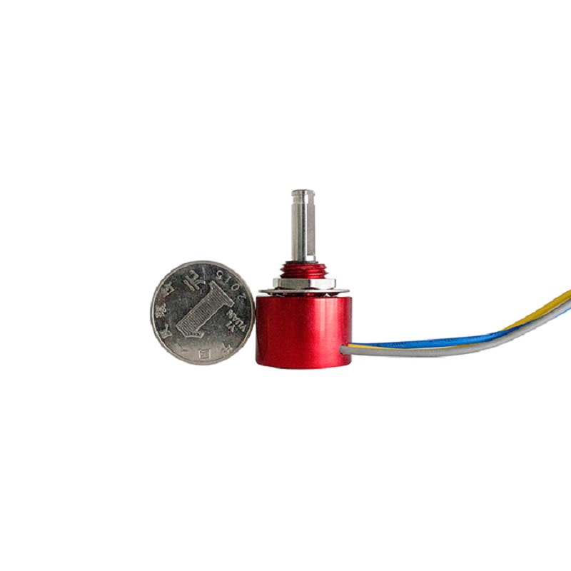 WDAD22B Angle Displacement Sensor Conductive Plastic Magnetic Potentiometer Electronic Ruler